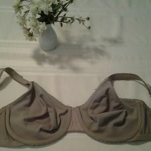 Olga Intimates & Sleepwear - Olga Brownish Gray Bra Size 40DD